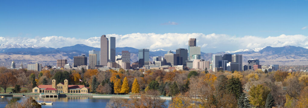 Downtown Denver Panorama