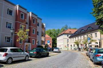 Fotomurales - stadtbild in bernau bei berlin, deutschland