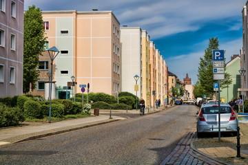 Fotomurales - stadtbild von bernau bei berlin, deutschland