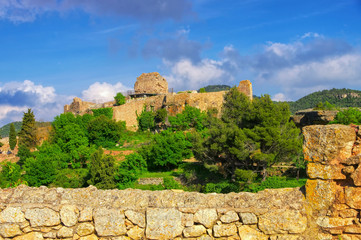 das Dorf Siurana in Katalonien, Spanien - village Siurana in Catalonia mountains