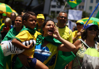 Protest to demand a bill to repeal a recent Supreme Court ruling on convicts, in Rio de Janeiro