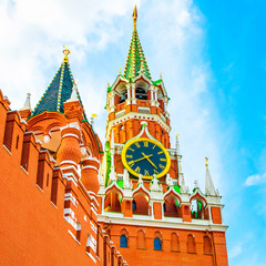 Moscow Kremlin and Spasskaya Tower