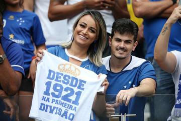 Brasileiro Championship - Cruzeiro v Palmeiras