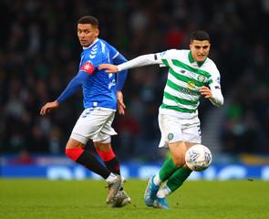 2019 Scottish League Cup Final Football Celtic v Rangers Dec 8th