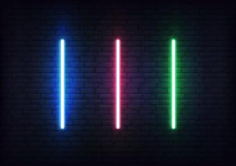 Laser set for Jedi Knights. Futuristic light saber sword weapon