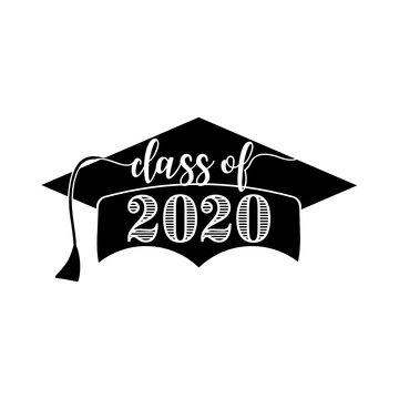 Class of 2020 Graduation Cap - SVG Cut File