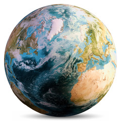 Wall Mural - Planet Earth world