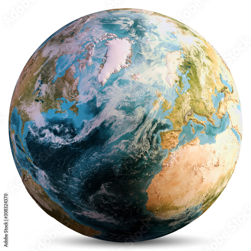 Wall mural Planet Earth world