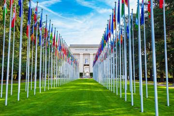 Fototapeta UNOG, United Nations Office Geneva