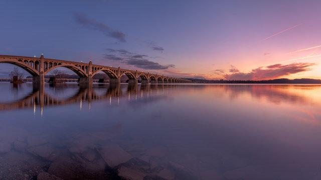 Columbia–Wrightsville Bridge, PA.   Veterans Memorial Bridge
