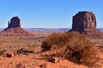Keuken foto achterwand Rudnes Unique landscapes in Monument Valley tribal park