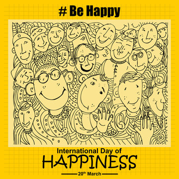 be smile, International day of Happiness