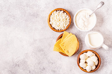 Probiotics fermented dairy products.