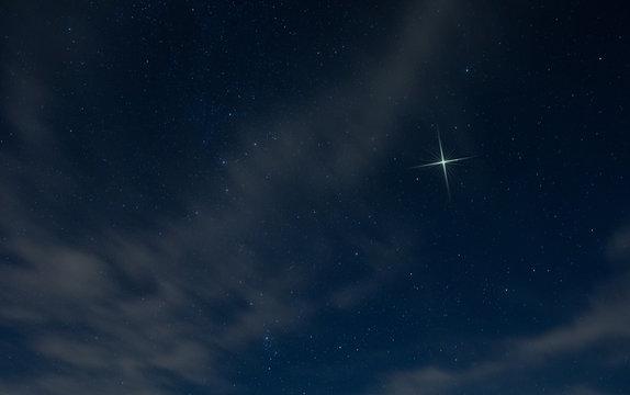 Christmas star rising in North Carolina