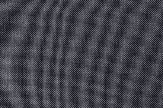 Grey cotton fabric texture background, seamless pattern of natural textile.