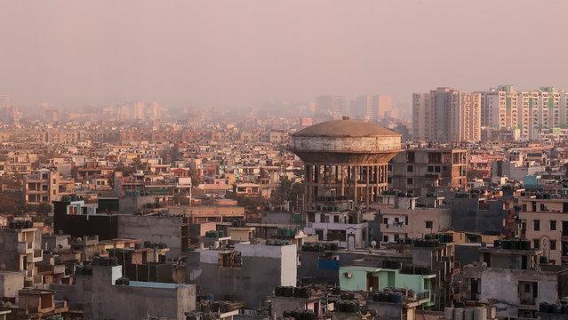 Blick über Neu Delhi