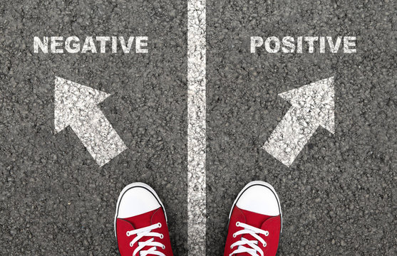 Negative or positive thinking is a personal choice