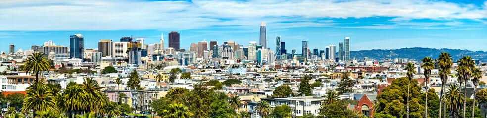 La pose en embrasure Piscine Panorama of San Francisco, California