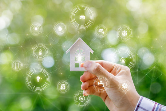 The concept of smart home.