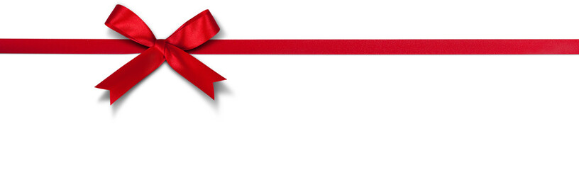 Schleife für Weihnachten Fototapete