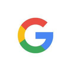 Google - popular realistic social media logotype. Editorial illustration. Vinnitsa, Ukraine - December 9, 2019