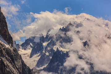 Wall Mural - Mont Blanc mountain
