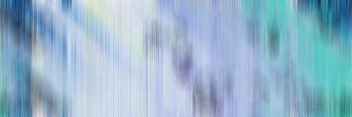 Aluminium Prints Fractal waves blurred background header with light steel blue, teal blue and cadet blue colors