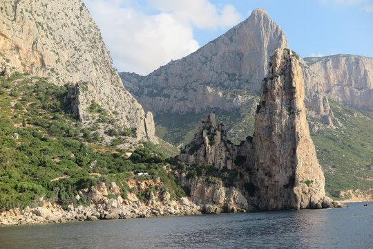 Entlang der Küste von Baunei, Sardinien