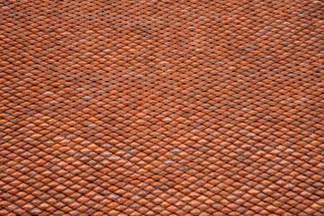 Fototapeta Pomarańczowa dachówka obraz