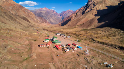 Penitente just before Aconcagua national Park