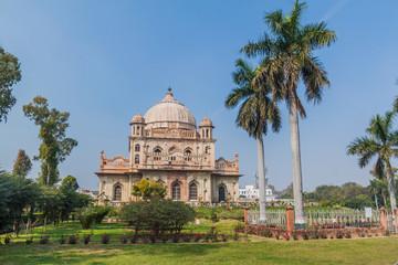 Tomb of Saadat Ali Khan in Lucknow, Uttar Pradesh state, India