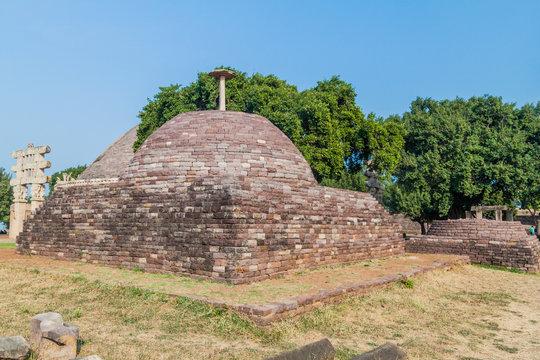Small stupa at Sanchi, Madhya Pradesh, India