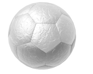 3d illustration of soccer ball