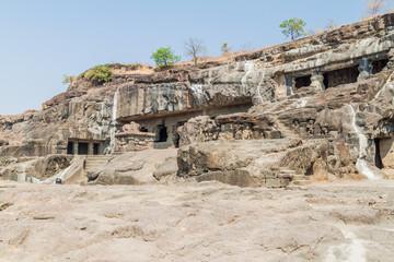 Cave monasteries in Ellora, Maharasthra state, India