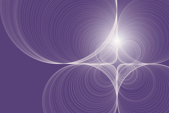 Abstract background of lines on purple. Soft light.