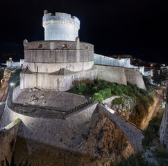 Wall Mural - Minceta Tower - the highest point in the Dubrovnik defence system. Croatia