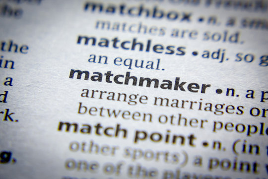 Word or phrase Matchmaker in a dictionary.