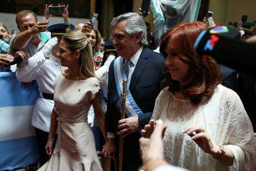 Inauguration of Argentina's President Alberto Fernandez in Buenos Aires
