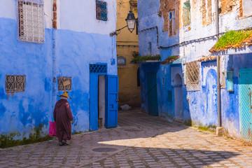 Chefchaouen medina Blue city of Morocco, Africa
