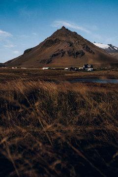 Bergpanorama Island