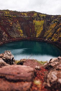 Kerið Krater Island