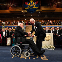 Nobel Prize Award Ceremony at the Stockholm Concert Hall in Stockholm