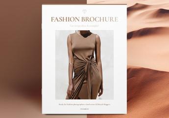 Fashion Brochure Layout