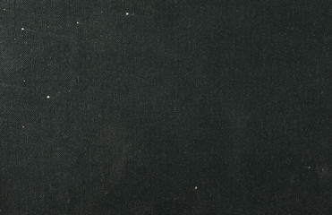 Old black cloth texture background, book cover