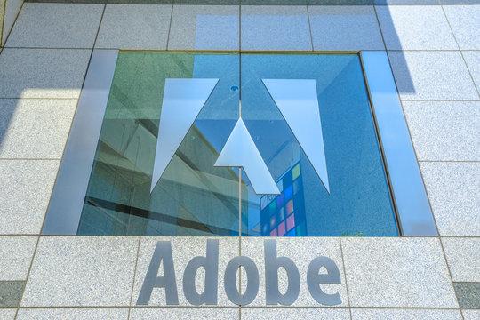 Adobe logo isolated