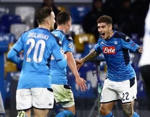 2019 Champions League Napoli v Genk  Dec 10th