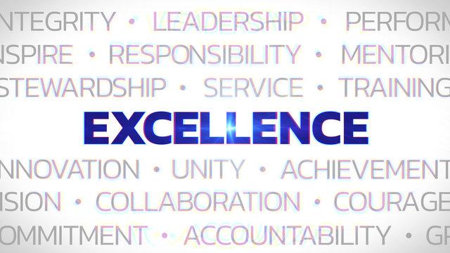 Excellence - Highlighted Concept Buzzwords