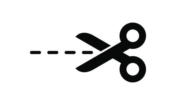 Cutting scissors icon