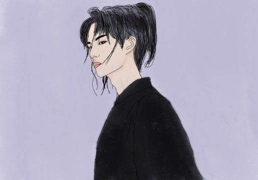 A Chinese man
