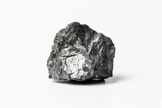 Galena, also called lead glance, is the natural mineral form of lead sulfide
